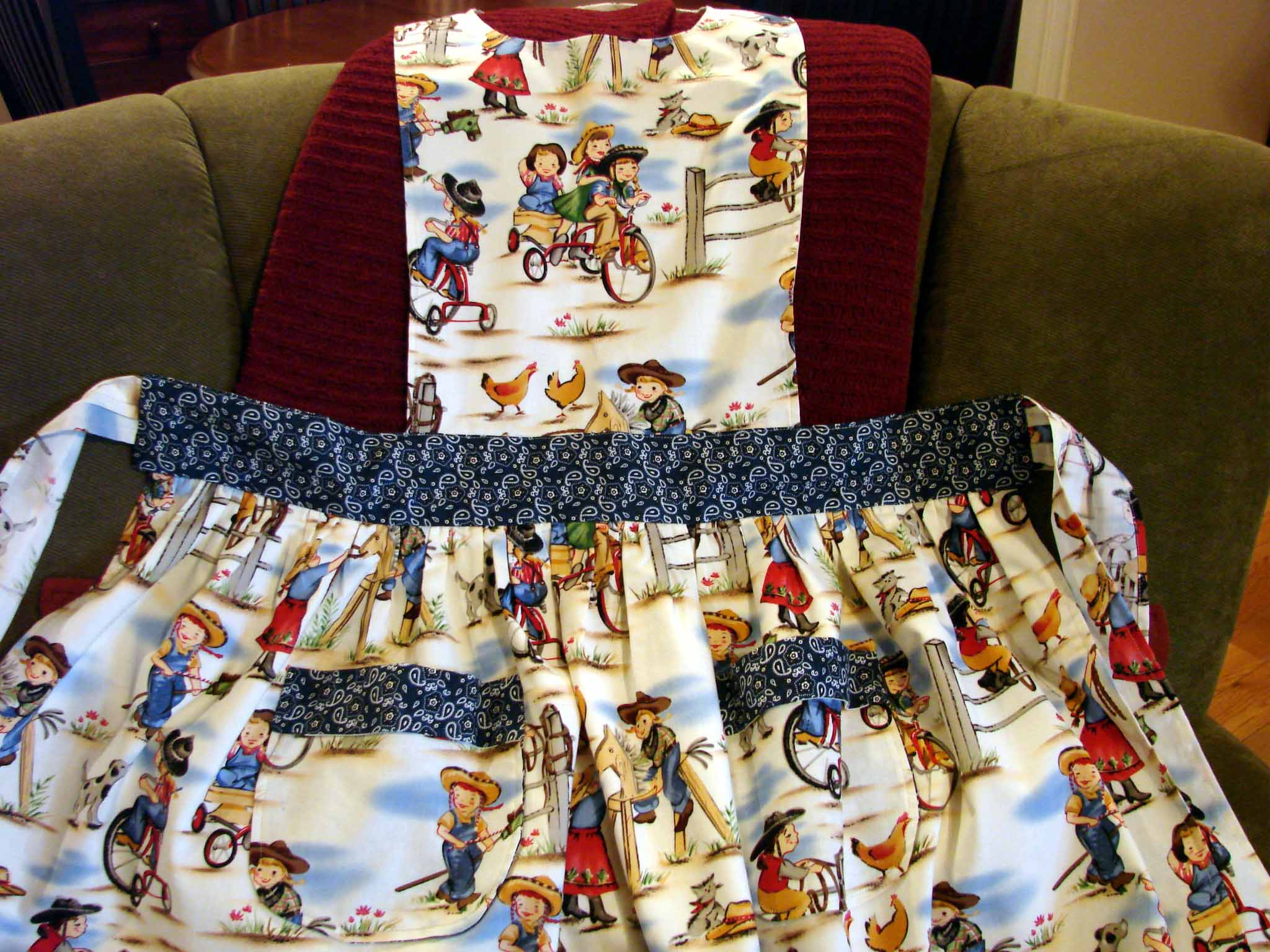 Sewing days…