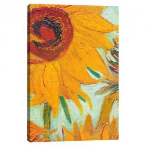 Twelve+Sunflowers+by+Van+Gogh+Canvas+Print